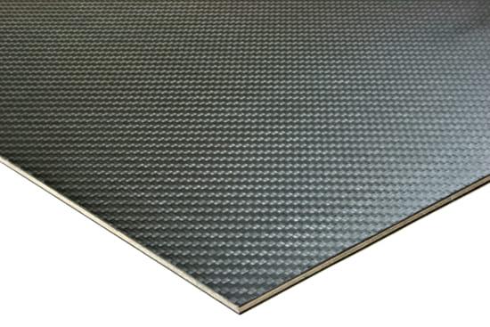 "Carbon Fiber Prepreg Birch Core ~ 3mm x 24"" x 24"""