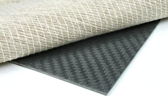 """Carbon Fiber Flax Linen Core Sheet - 1/16"""" x 24"""" x 24"""""""