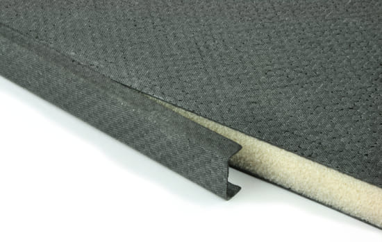 "Carbon Fiber Core Edge Trim 1"" x 24"""
