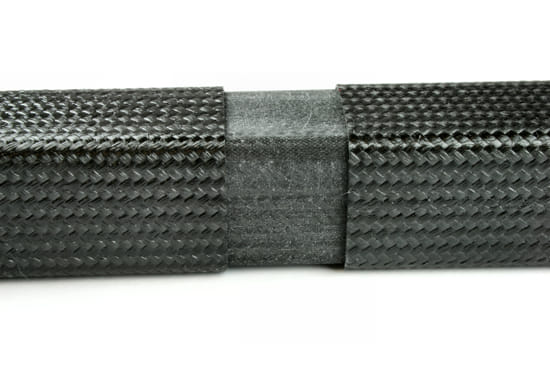 "3"" Carbon Fiber Square Tube Splice"