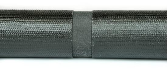"Carbon Fiber Round Tube Splice For 1.25"" ID Tube"