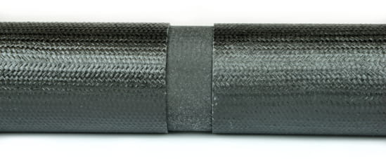 "Carbon Fiber Round Tube Splice For 1.5"" ID Tube"