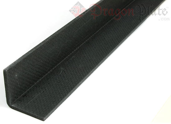 "Picture of Economy Carbon Fiber Angle 1/8"" x 1"" x 24"""