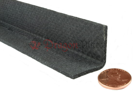 "Picture of Quasi-isotropic Carbon Fiber Angle 3/32"" x 1"" x 12"""