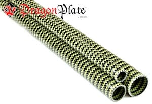 Picture for category EconomyTube™ Braided Carbon/Kevlar Round Tubes